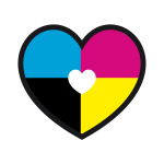 logo coeur mizenblog by sylvie amilien