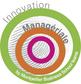 logo innovation managériale by Montpellier Business School teams