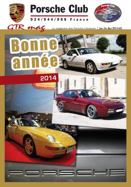 couv GTR 40 Porsche Club 924:944:968