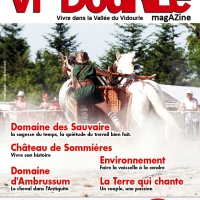 Services PAO Maquette Magazine Viedourle magazine 46