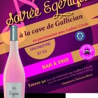 Services PAO Affiche soirée Égérique